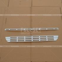Накладки на решетку Peugeot Partner (08-...)