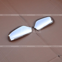 Хром-накладки на зеркала Opel Astra H (04-09)
