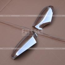 Декоративные хромированные накладки боковых зеркал (абс-пластик)
