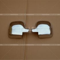 Накладки на зеркала Peugeot Partner (02-07)