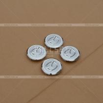 Хромированные колпачки в диски с эмблемой Mazda