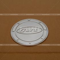 Накладка на лючок бензобака Hyundai Getz