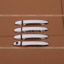 Хром на ручки Hyundai Santa Fe 06-09