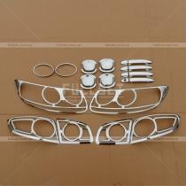 Набор хром-накладок Hyundai Santa Fe 06-09