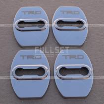 Хромированные накладки на петли (навесы) дверных замков с эмблемой TRD