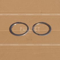 Накладки на противотуманки Fiat Doblo (01-09)