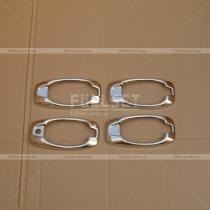 Накладки на ручки окантовка Fiat Doblo (2010-...)