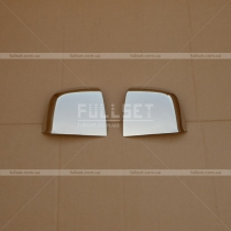 Накладки на зеркала Fiat Doblo (2010-...)