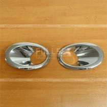 Накладки на противотуманную оптику Nissan Qashqai (10-14)