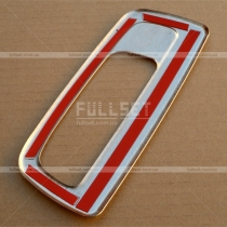 Хром-накладка на ручку двери багажника Renault Kangoo (2008+)