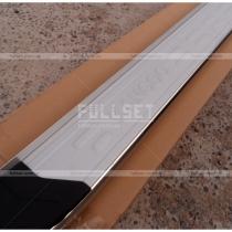 Боковые площадки Kangoo, профиль-алюминий+нержавеющая сталь