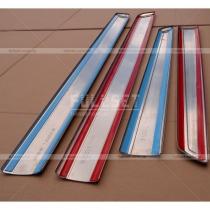 Хром-накладки на дверные молдинги (высококачественная нержавейка), Kangoo (08-11),