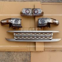 Фары, задние фонари+решетка Toyota FJ Cruiser (04-12)