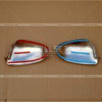 Хром-накладки на зеркала (высококачественная нержавейка)