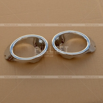 Накладки на противотуманки Volkswagen Jetta (06-11)