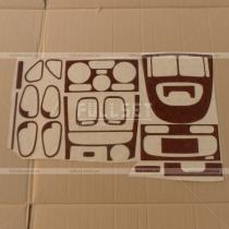 Деревянные накладки на торпедо и карты дверей Carisma (95-98)