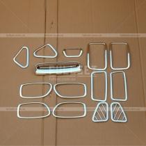 Накладки в салон Hyundai Elantra 07-10