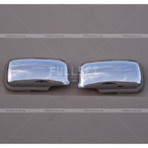 Хром накладки на зеркала Mitsubishi Lancer 9 (03-09)