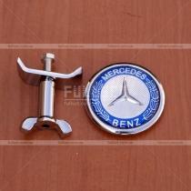 Логотип на капот Mercedes Benz