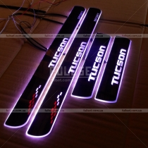 Пороги с подсветкой Hyundai Tucson (2015-...)