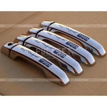 Хромированные накладки на ручки из нержавеющей стали с эмблемой TRD