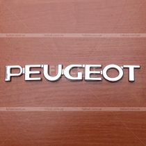 Надпись Peugeot