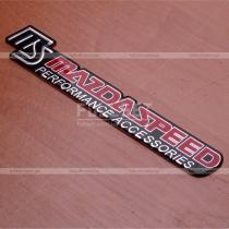 Надпись декоративная Mazda Speed Performance Accessories (размер: 17,5 см на 2,5 см)