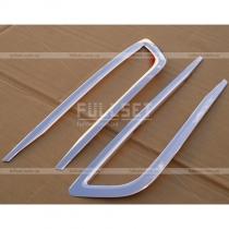 Хромированные окантовки передней противотуманной оптики (высококачественная нержавейка)