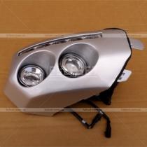 Противотуманные фары в передний бампер оснащенные линзами и светодиодами