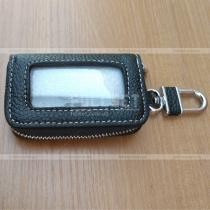Кожаный чехол для ключа зажигания и сигнализации с возможностью использования не доставая ключ