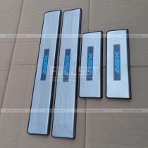 Накладки на пороги с неоновой подсветкой ASX на всех четырех порожках
