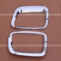 Хром накладки на передние противотуманные фары Sorento (13-15)