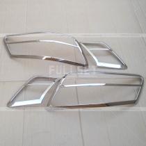 Накладки на задние фонари Toyota Camry v40 (06-10)