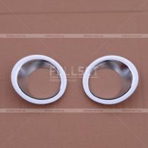 Накладки на задние противотуманки Nissan X-Trail (07-13)