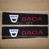 Чехлы для ремней пристегивания с эмблемой Dacia