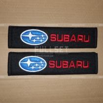 Чехлы для ремней безопасности с эмблемой Subaru