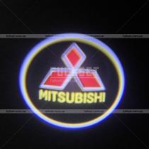 Проектор в двери Mitsubishi