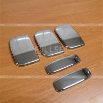 Накладки на ручки хромовые Citroen Berlingo (02-07)