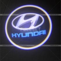 Проектор в двери Hyundai