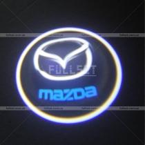 Проектор в двери Mazda
