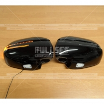 Корпуса зеркал с повторителями поворотов Toyota Prado 120 (03-09)