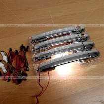 Хромированные ручки дверей Toyota Hilux (05-15)