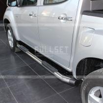Пороги боковые трубы Volkswagen Amarok (2010-...)
