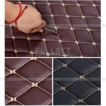 Модельные 3D коврики в багажник черного цвета (5 мест, 7 мест)