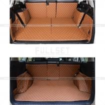 3Д Коврик в багажник коричневый, Прадо 150