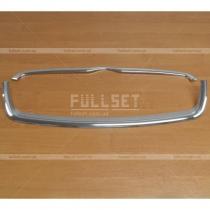 Хром окантовка решетки радиатора Hyundai Accent 06-09