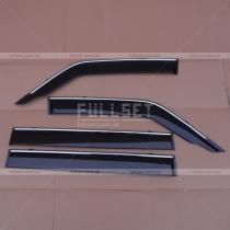 Ветровики на окна Mitsubishi Pajero Wagon 4 (08-13)