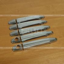 Хром накладки на ручки, пластик Toyota Prado 120 (03-09)