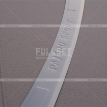 Защитная накладка заднего бампера Pajero Sport