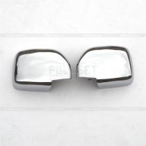 Хром-накладки на зеркала Toyota Prado 90 (96-03)
